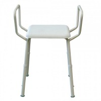 Shower Stool with Arms. Click for more information...