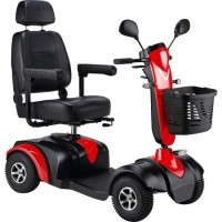 S745 Midi Electric Scooter (Red). Click for more information...