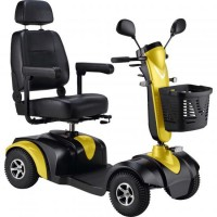 S745 Midi Electric Scooter (Yellow). Click for more information...