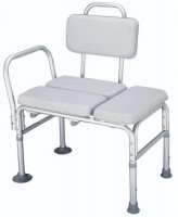 Padded Bath Transfer Bench. Click for more information...