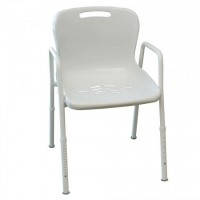 Shower Chair with Arms. Click for more information...