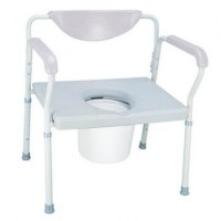 Heavy Duty Commode Wide Seat. Click for more information...