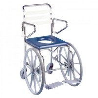 Shower Commode - Self Propelled. Click for more information...