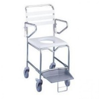 Mobile Commode / Shower Chair Maxi. Click for more information...