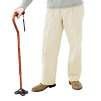 Comfort-Plus Canes With MiniQuad ultra-stable tip. Click for more information...