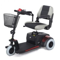 Deluxe 3 wheel Scooter. Click for more information...