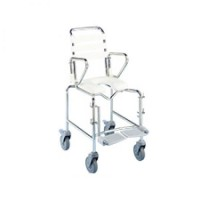 Paediatric Attendent Propelled Commode. Click for more information...